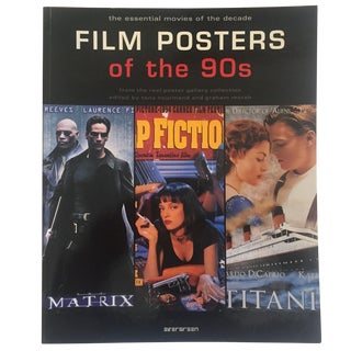 """Film Posters of the 90's"" Graphic Design Art Book"