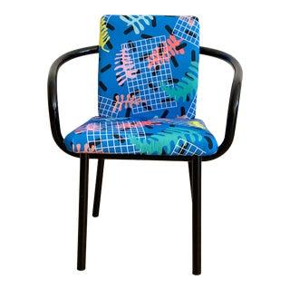 Vintage Ettore Sottsass for Knoll Mandarin Chair For Sale
