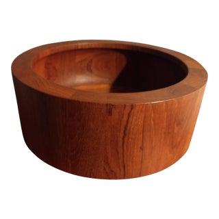 Vintage Dansk Ihq Jens Quistgaard Teak Bowl For Sale