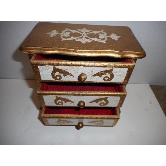 French Music Box Jewelry Box - Image 3 of 5