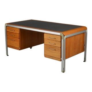 1970s Danish Modern Arne Jacobsen for Fritz Hansen Tanker Desk For Sale
