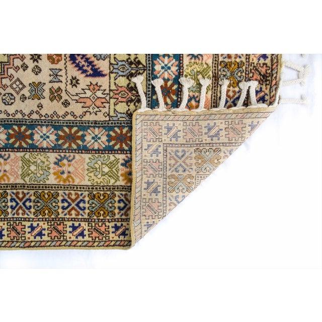 """Vintage Moroccan Rug 'Amina' - 4'9""""x6'8"""" - Image 5 of 6"""