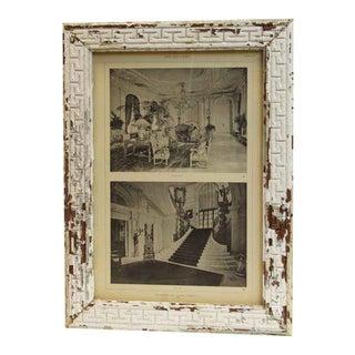 Mrs. Olerich's Residence Framed Photo For Sale