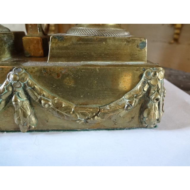French 19th Century French Bouillotte Lamp For Sale - Image 3 of 11