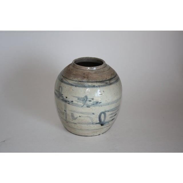 18th C. Chinese Stoneware Ginger Jar - Image 3 of 6