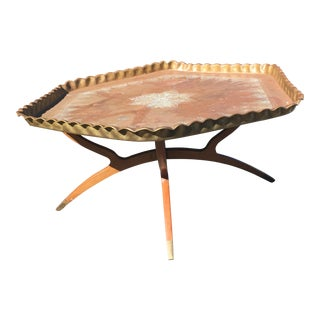 Moroccan Style Mid-Century Coffee Table