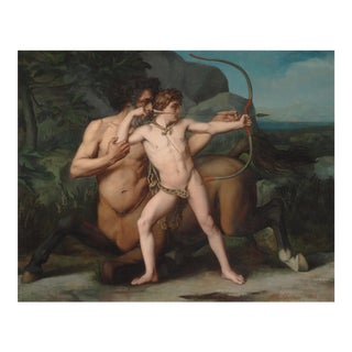 The Education of Achilles by Auguste-clement Chretien