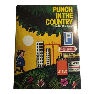 """1975 """"Punch in the Country"""" Alan Coren Book"""