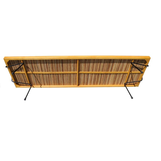 Saffron Mid-Century Modern Laverne Bench/Coffee Table by Katavolos, Littell and Kelly For Sale - Image 8 of 10