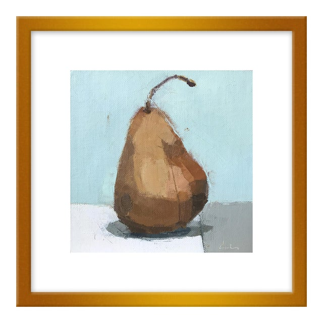"""Small """"Pear"""" Print by Caitlin Winner, 15"""" X 15"""" For Sale"""