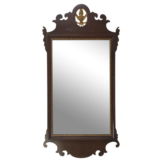 Mahogany Chippendale Mirror With Gilt Detail - Image 1 of 6