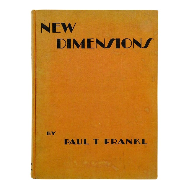 1928 'New Dimensions: The Decorative Arts' Book - Image 1 of 11