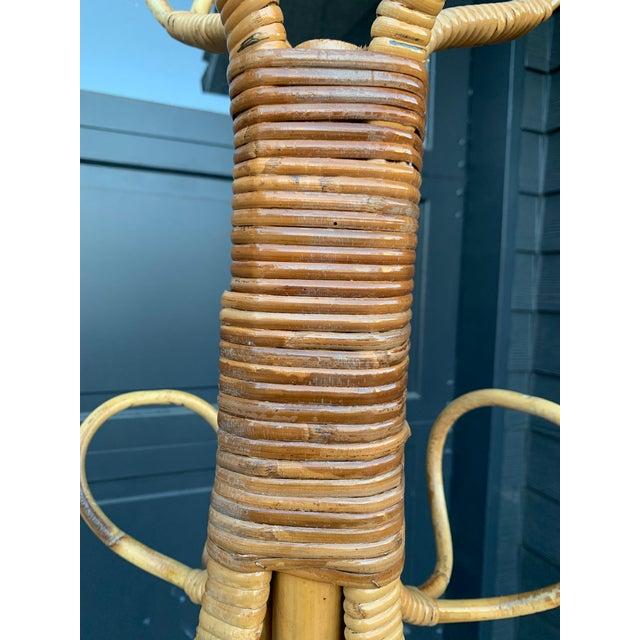 Victorious Bonacina Bamboo Coat & Hat Rack For Sale In Los Angeles - Image 6 of 8