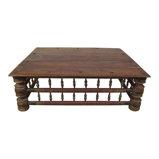 Awe Inspiring Antique Indian Mango Wood Rustic Coffee Table Inzonedesignstudio Interior Chair Design Inzonedesignstudiocom