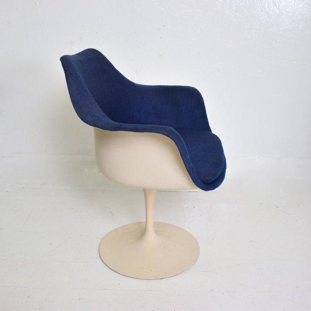 1950s Knoll Tulip Chair 1956 by Eero Saarinen Mid Century Modern For Sale - Image 5 of 10
