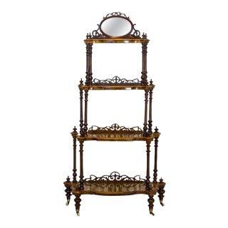 19th Century Victorian Étagère For Sale
