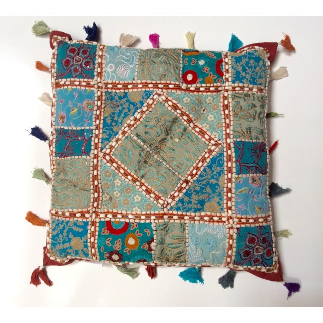 Layla Vintage Artisanal Pillow - Image 2 of 3