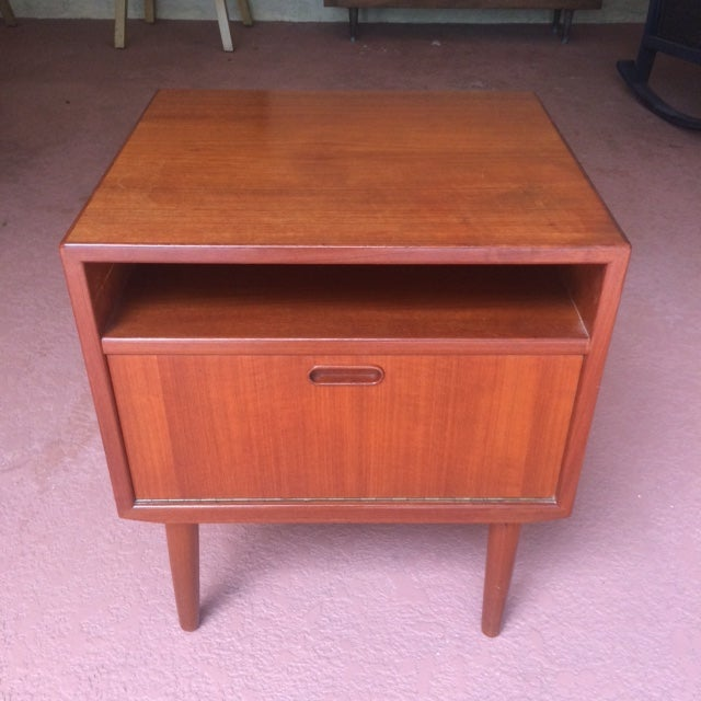 Mid-Century Teak Nightstands by Falster - Image 4 of 10