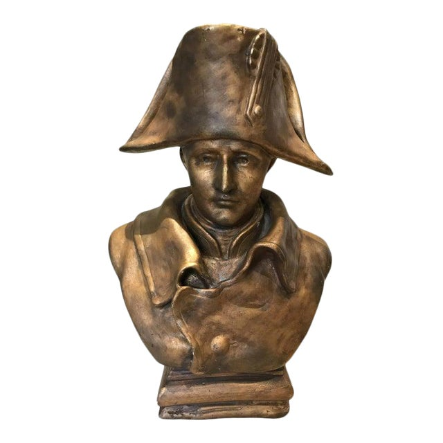 19th Century Napoleon Bonaparte Bronze Bust For Sale