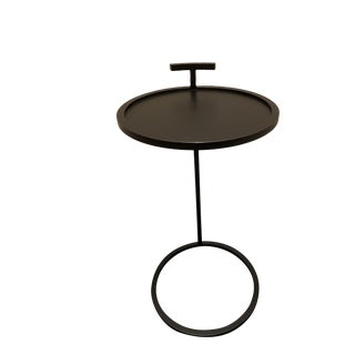 1930's Martini Round Side Table For Sale