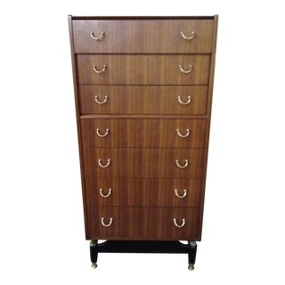 1950s Mid Century Modern G. Plan E Gomme Chest of Drawers For Sale