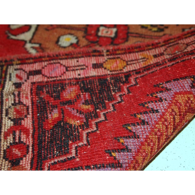 1960s, Handmade Vintage Turkish Yastik Rug 1.6' X 3.1' For Sale In New York - Image 6 of 12