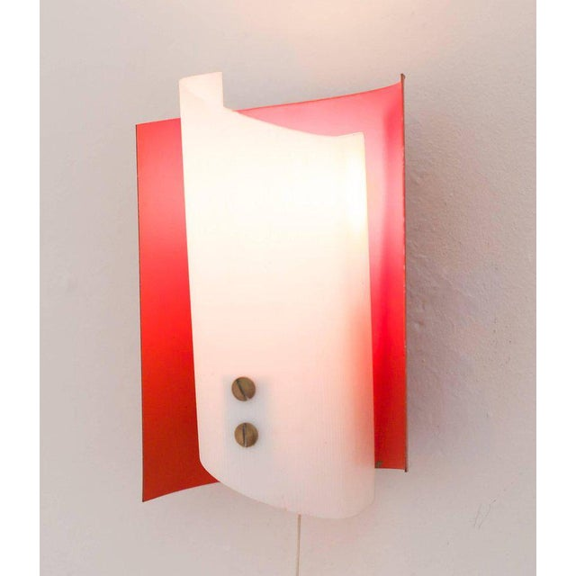 1950s Pair of Italian Sconces For Sale - Image 5 of 6