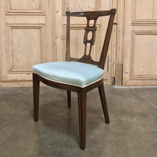 Antique Hepplewhite Dining Chairs - Set of 8 For Sale - Image 10 of 12