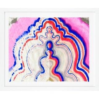 "Kristi Kohut ""Vibrant Agate 2"" Fine Art Print For Sale"