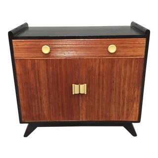 Paul Frankl for Brown Saltman Combed Wood Cabinet