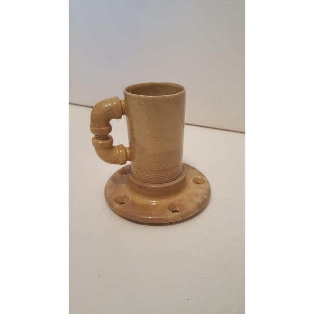 Vintage Plumber Pipe Flange and Connector Ceramic Mug - Image 2 of 6