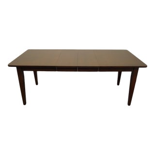 """Traditional Tom Seely Furniture Solid Cherry 78"""" Dining Table For Sale"""