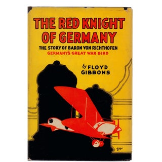 """1932 """"Red Knight of Germany: Baron Von Richthofen"""" Collectible Book For Sale"""