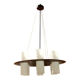 Esperia round chandelier. Italy 1960 For Sale