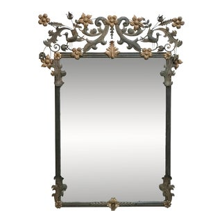 Vintage Custom Wall Mirror For Sale