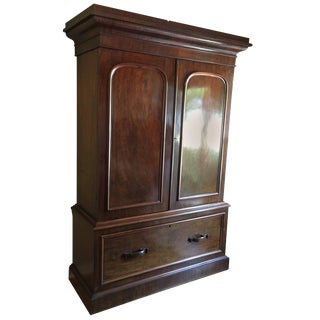 William IV Gentleman's Hat Chest or Cabinet For Sale