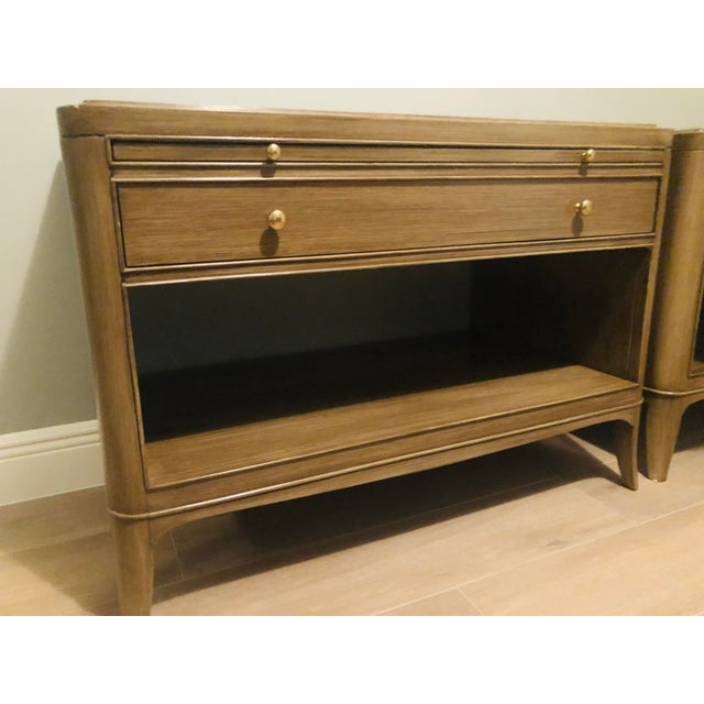 Barbara Barry for Baker Furniture Nightstands-a Pair For Sale - Image 10 of 12