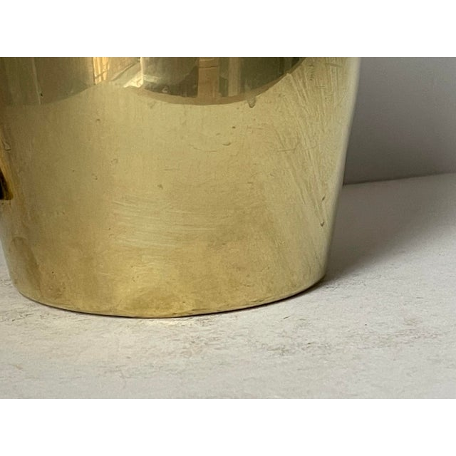 Dorlyn Brass Pitcher by Parzinger For Sale In New York - Image 6 of 9