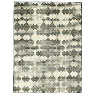 Contemporary Hand Woven Rug - 9' x 12' For Sale