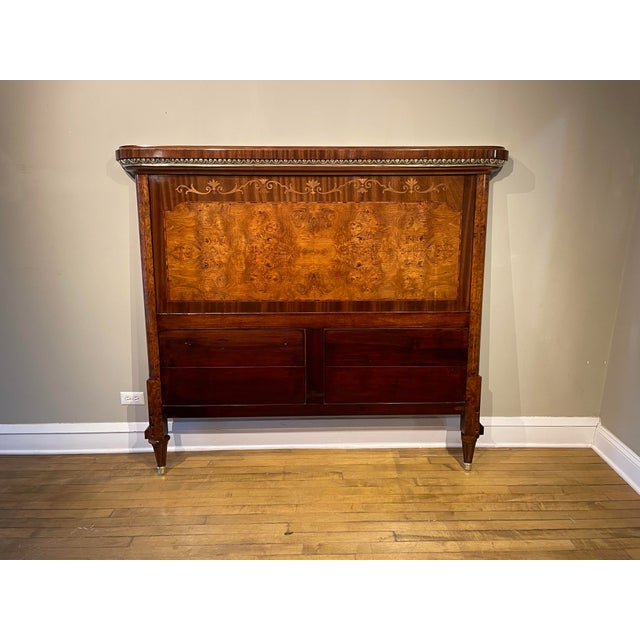 Figurative 19th Century French Empire Bed For Sale - Image 3 of 10