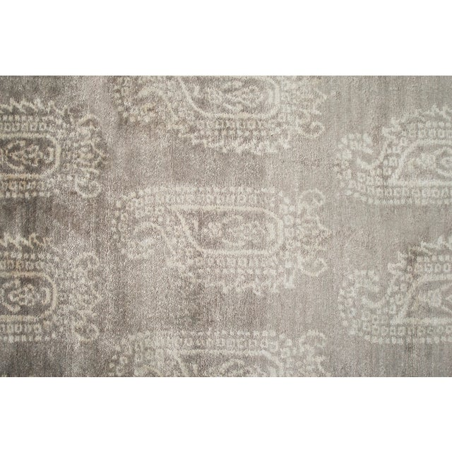 Stark Studio Rugs Stark Studio Rugs Contemporary Oriental Bamboo Silk Rug - 12' X 15' For Sale - Image 4 of 5