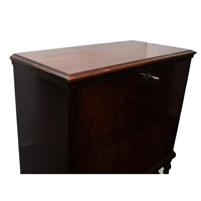 "Early 20th Century ""Vargueno"" Secretary Desk - Image 9 of 10"