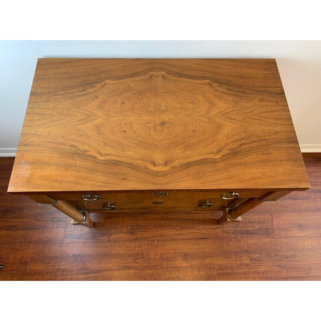 Vintage Baker French Empire Neoclassical Style Chest of Drawers For Sale In San Diego - Image 6 of 13
