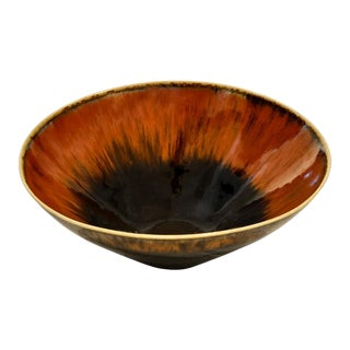 Bowl by Carl Harry Stalhane for Rostrand For Sale