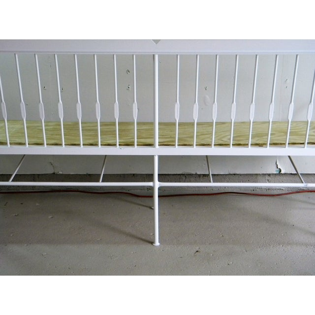 Vintage Iron Bench - Image 4 of 6