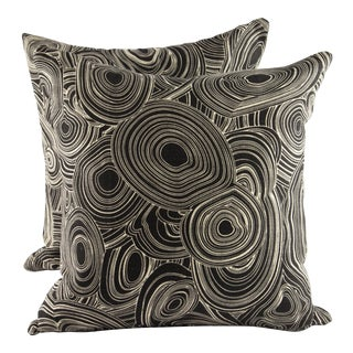 "18"" X 18"" Jonathan Adler for Kravet Down Pillows For Sale"