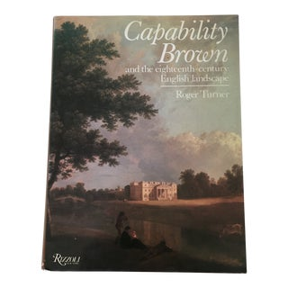 "1985 ""Capability Brown and the 18th Century English Landscape"" First Edition Art Book For Sale"