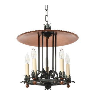 Copper and Verdigris Open Lantern