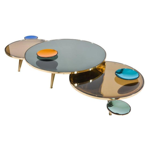 Riflesso Coffee Tables - Set of 3 For Sale - Image 13 of 13