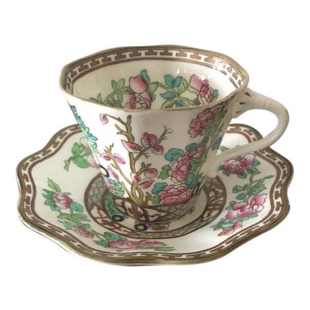 Vintage Coalport Bone China Tea Cup and Saucer Set - Image 1 of 7